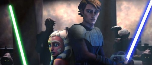 Star Wars: The Clone Wars - Ahsoka and Anakin