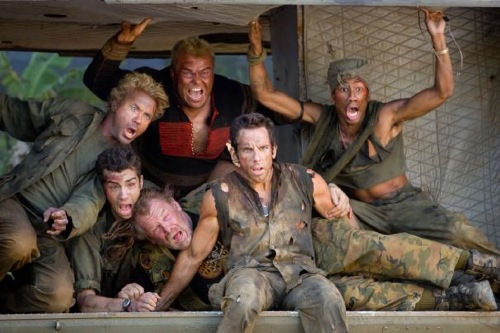 Tropic Thunder - Ben Stiller, Jack Black and co.