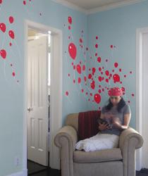 Threadless Wall Designs - 99 Luftballons