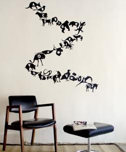 Threadless Wall Designs - Alphabet 2
