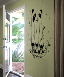 Threadless Wall Designs - Fake Pandas Have More Fun