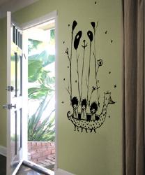 Threadless Wall Designs - Fake Pandas Have More Fun