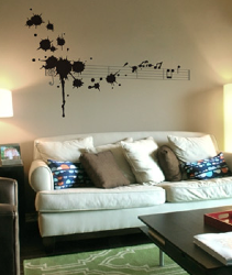 Threadless Wall Designs - Splatter in D Minor