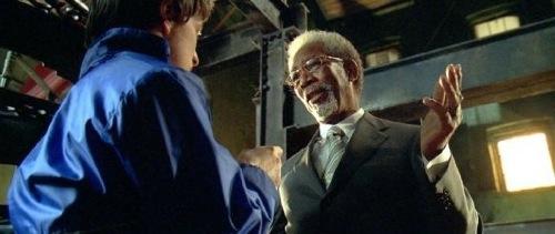 Wanted - James McAvoy and Morgan Freeman