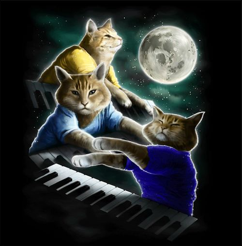 three-keyboard-cat-moon