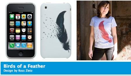 Threadless iPhone Case Birds