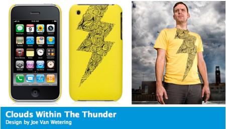 Threadless iPhone Case Thunder