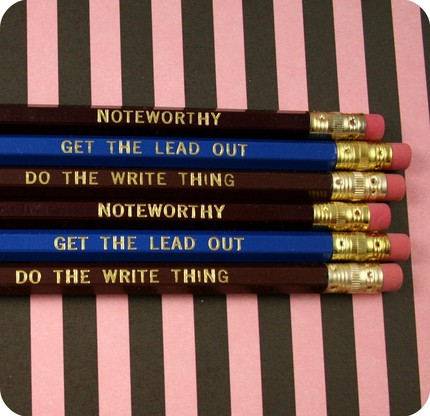 Paperpastries Pencils 2