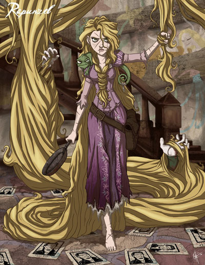 Twisted Princess Rapunzel