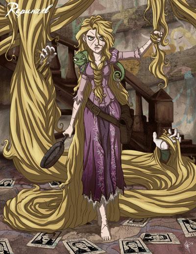 Twisted Princess Rapunzel