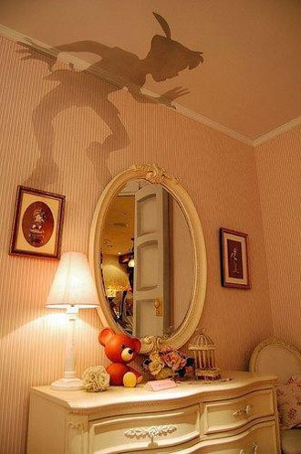 Cool Stuff: Peter Pan Wall/Ceiling Decal