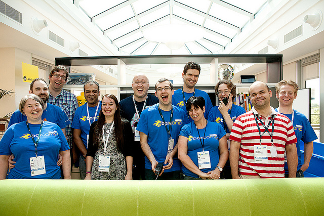 BarCamp Berkshire Crew Photo