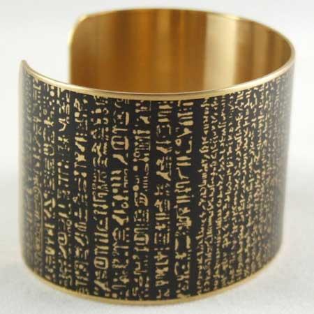 rosetta-stone-cuff-bracelet