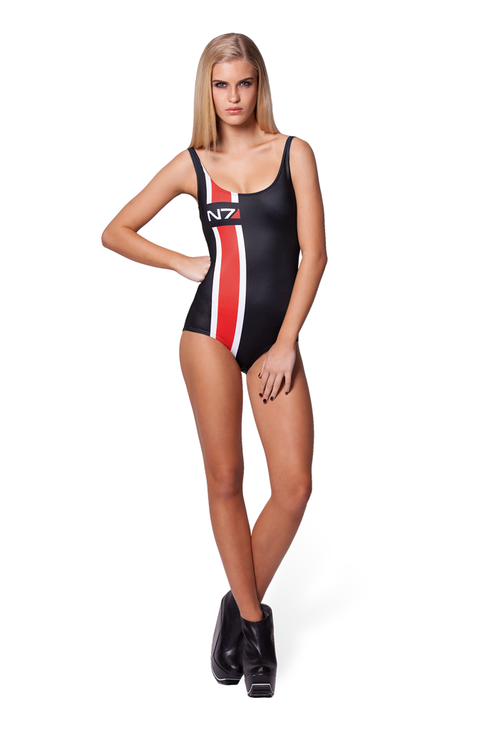 Mass Effect Swimsuit N7