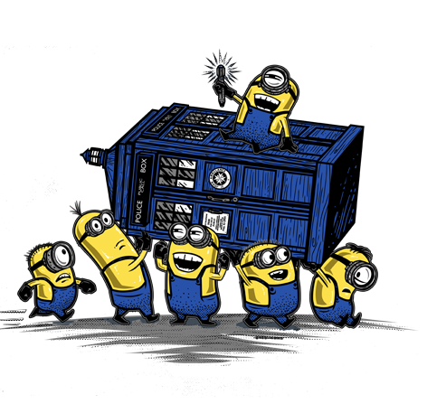 Minions Have The Phone Box