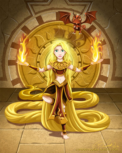 rapunzel_sun_warrior