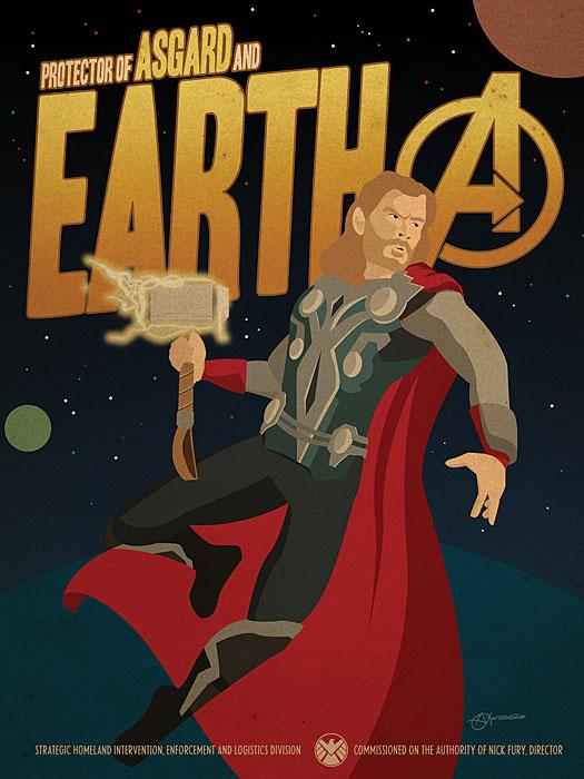 Thor Propaganda Poster