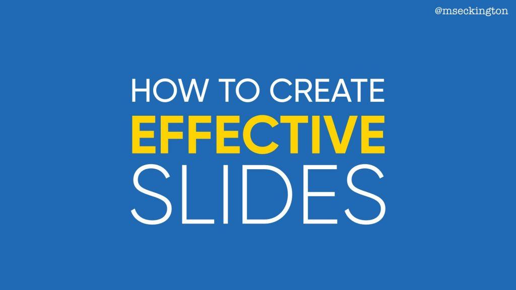 the art of slide design miss geeky